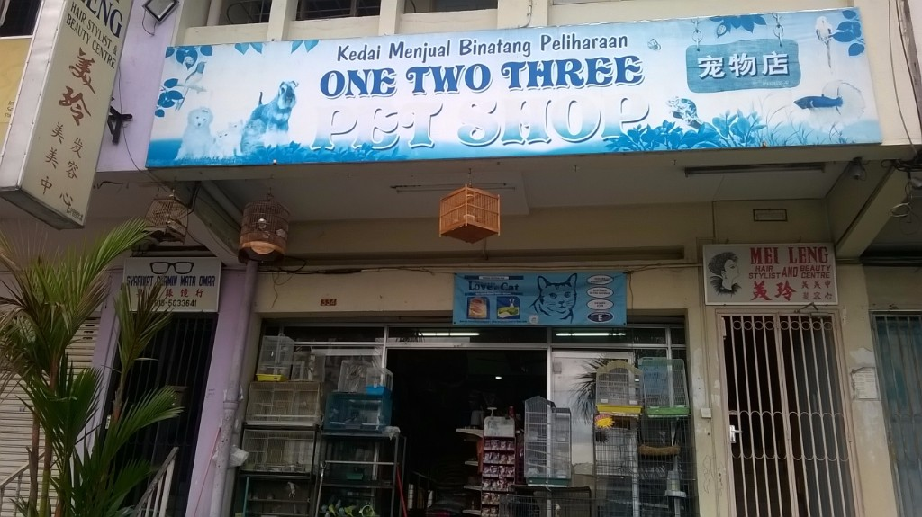 One Two Three Pet Shop